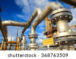 offshore industry oil and gas... | Shutterstock . vector #368763509