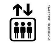 elevator icon | Shutterstock .eps vector #368785967