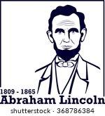 Portrait Of Abraham Lincoln....