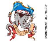 vector illustration of octopus...   Shutterstock .eps vector #368788319