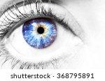Beautiful Insightful Look Blue...