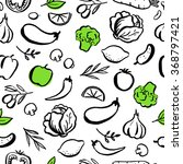 seamless vector pattern with... | Shutterstock .eps vector #368797421