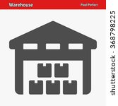 warehouse icon. professional ... | Shutterstock .eps vector #368798225