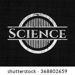 science written with chalkboard ... | Shutterstock .eps vector #368802659