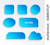 modern vector blank blue...