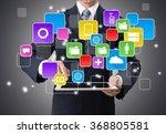 market. | Shutterstock . vector #368805581