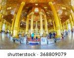 yangon  myanmar   jan 16  swe... | Shutterstock . vector #368809079