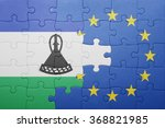 puzzle with the national flag... | Shutterstock . vector #368821985