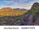 View From Hiking Trail On...
