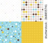 Seamless Backgrounds With Dots...