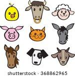 Farm Animal Set   Clipart  ...