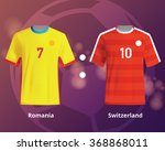 color soccer t shirts of... | Shutterstock .eps vector #368868011