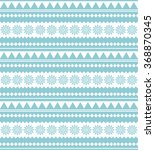 ethnic seamless pattern. tribal ... | Shutterstock .eps vector #368870345