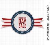 presidents day sale national...   Shutterstock .eps vector #368874314