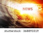 graphical digital news... | Shutterstock . vector #368893319