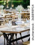 wedding decor | Shutterstock . vector #368898914