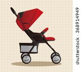 baby carriages theme elements | Shutterstock .eps vector #368914949
