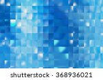 abstract blue creative... | Shutterstock . vector #368936021
