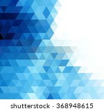 vector abstract geometric... | Shutterstock .eps vector #368948615