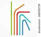 Colorful Drinking Straws Set O...