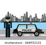 state police design  | Shutterstock .eps vector #368952131