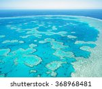 aerial view of great barrier... | Shutterstock . vector #368968481