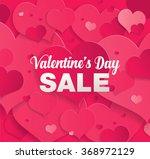 valentine's day sale | Shutterstock .eps vector #368972129