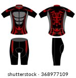 sportswear fashion design... | Shutterstock .eps vector #368977109