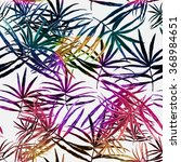 seamless pattern with tropical... | Shutterstock . vector #368984651