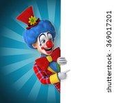 fun clown | Shutterstock . vector #369017201