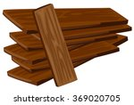 pile of wooden plywoods... | Shutterstock .eps vector #369020705