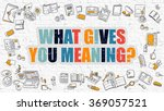 multicolor concept   what gives ... | Shutterstock . vector #369057521