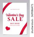 valentine's day sale | Shutterstock .eps vector #369086471