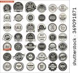 quality retro vintage badges... | Shutterstock .eps vector #369091871