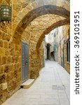 view of an alley in the old... | Shutterstock . vector #369101951