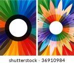 gift card illustrations | Shutterstock .eps vector #36910984