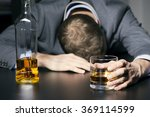 alcohol addiction   drunk... | Shutterstock . vector #369114599