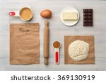 top view of food ingredient... | Shutterstock . vector #369130919