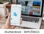chiangmai thailand   jan 19 ... | Shutterstock . vector #369150611