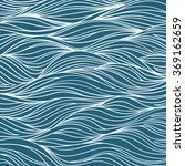 Waves Hand Drawn Pattern....