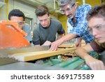 electronic wood cutting machine | Shutterstock . vector #369175589