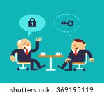 vector illustration two... | Shutterstock .eps vector #369195119