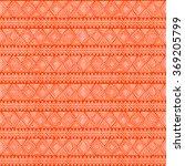 ethnic geometric seamless... | Shutterstock .eps vector #369205799