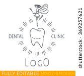 logo children's dental clinic... | Shutterstock .eps vector #369257621