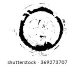 black brush stroke in the form... | Shutterstock .eps vector #369273707