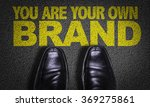 top view of business shoes on... | Shutterstock . vector #369275861