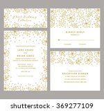 wedding invitation collection... | Shutterstock .eps vector #369277109