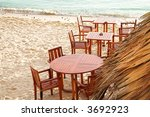 Chairs And Tables Of Outdoor...