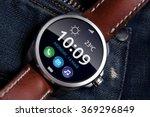 smart watch concept on matte... | Shutterstock . vector #369296849