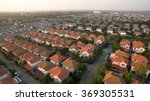 aerial view of home village in... | Shutterstock . vector #369305531